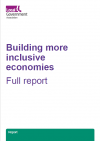 Building inclusive economies front cover