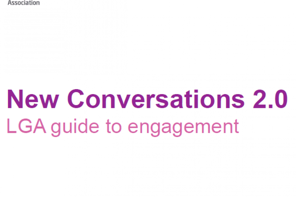 New Conversations 2.0 - LGA guide to engagement