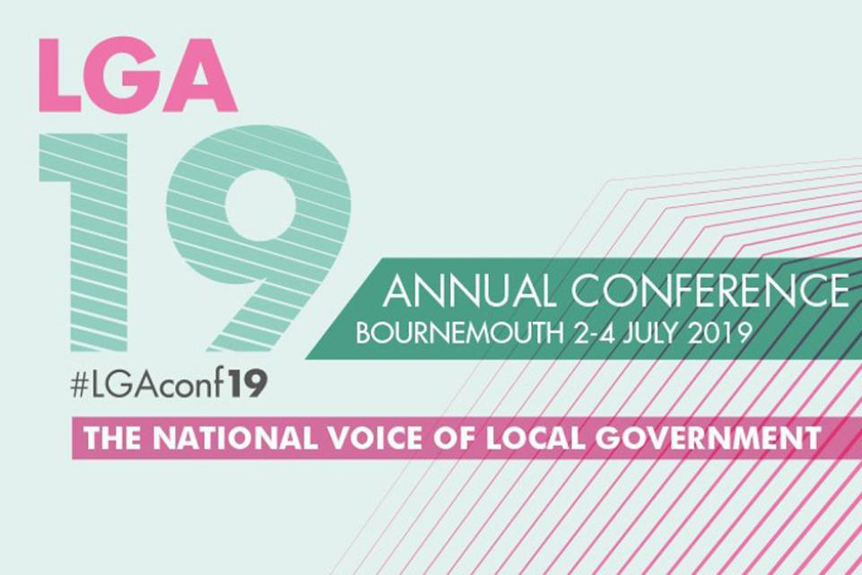 LGA Annual Conference and Exhibition 2019 (2-4 July) - Bournemouth